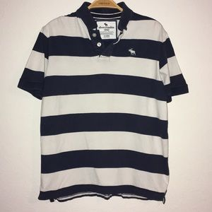 Boys Abercrombie & Fitch polo